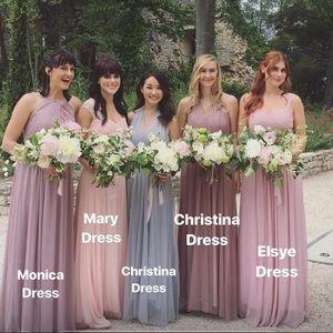 4aa2213d8bd birdy grey Dresses - Birdy grey Christina tulle bridesmaid dress mauve